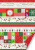 Karton B2 200g Heyda Christmas Bordiure Red x1