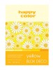 Blok A5 Happy Color Deco Yellow 170g 20k x1
