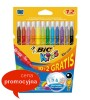 Pisaki BIC Kid Couleur 12 kol x1