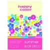 Blok A4 Happy Color Deco Summer170g 20k x1