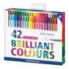 Cienkopisy Staedtler Brilliant Colours 42kol x1