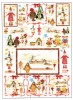 Papier do decoupage 50x70 - FER 82 Country Christm