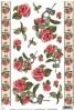 Papier do decoupage A4 ITD Soft - 031 camelia