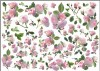 Papier do decoupage A3 ITD - 164 peonie